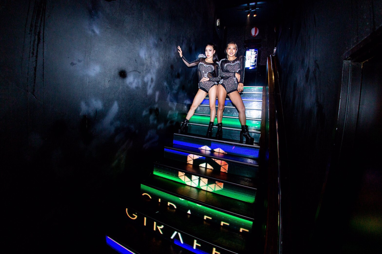 Giraffe Japan: Osaka's Most Famous Nightclub in the Heart of downtown Dotonbori